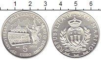 Изображение Монеты Сан-Марино 5 евро 2014 Серебро Proof