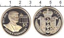 Изображение Монеты Ниуэ 5 долларов 1992 Серебро Proof
