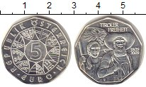 Изображение Монеты Австрия 5 евро 2009 Серебро Proof-