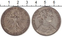 Изображение Монеты Франкфурт 1 талер 1860 Серебро XF
