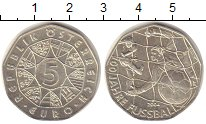Изображение Монеты Австрия 5 евро 2004 Серебро UNC
