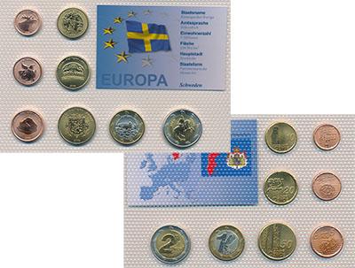 Изображение Наборы монет Швеция Швеция 2006 2006  UNC