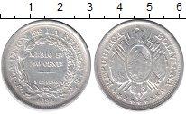 Изображение Монеты Боливия 50 сентаво 1894 Серебро XF
