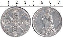 Изображение Монеты Великобритания Двойной флорин 1887 Серебро XF