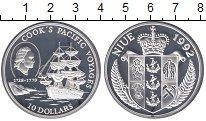 Изображение Монеты Ниуэ 10 долларов 1992 Серебро Proof