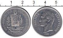 Изображение Монеты Венесуэла 2 боливара 1989 Медно-никель XF Боливар - Освободите