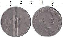 Изображение Монеты Италия 2 лиры 1924 Медно-никель VF