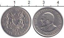 Изображение Монеты Кения 50 центов 1973 Медно-никель XF