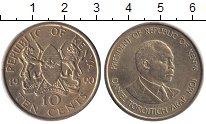 Изображение Монеты Кения 10 центов 1990 Медь XF