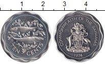 Изображение Мелочь Багамские острова 10 центов 1974 Медно-никель XF