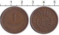 Изображение Монеты Мозамбик 1 эскудо 1962 Медь XF