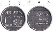 Изображение Монеты Аруба 1 флорин 2010 Медно-никель XF