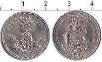Изображение Монеты Багамские острова 5 центов 1975 Медно-никель UNC-