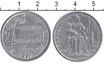 Изображение Монеты Полинезия 2 франка 2006 Алюминий XF Протекторат