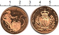 Изображение Монеты Сан-Марино 5 скудо 1993 Золото UNC KM# 305, вес 16,95 г