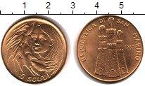 Изображение Монеты Сан-Марино 5 скудо 1980 Золото UNC KM# 115, вес 15 грам