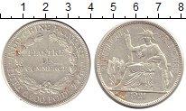 Изображение Монеты Индокитай 1 пиастр 1921 Серебро XF