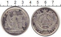 Изображение Монеты Гондурас 1 песо 1890 Серебро VF 16 сентября 1821 г.