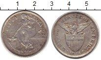 Изображение Монеты Филиппины 50 сентаво 1921 Серебро VF