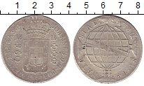 Изображение Монеты Бразилия 960 рейс 1815 Серебро XF- Португальская колони