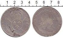 Изображение Монеты Франция 1 экю 1695 Серебро VF