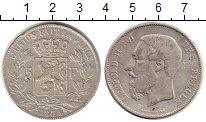 Изображение Монеты Бельгия 5 франков 1874 Серебро XF