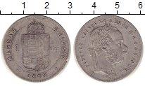 Изображение Монеты Венгрия 1 форинт 1878 Серебро XF