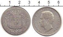 Изображение Монеты Португалия 500 рейс 1889 Серебро XF