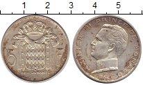 Изображение Монеты Монако 5 франков 1966 Серебро XF