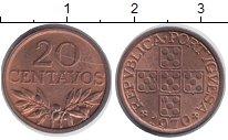 Изображение Монеты Португалия 20 сентаво 1970 Бронза XF