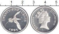 Изображение Монеты Бермудские острова 25 центов 1995 Медно-никель UNC