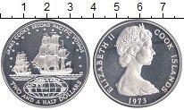 Изображение Монеты Острова Кука 2 1/2 доллара 1973 Серебро Proof