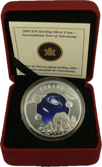 Изображение Подарочные монеты Канада 30 долларов 2009 Серебро Proof Монета номиналом 30