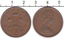 Изображение Дешевые монеты Великобритания 2 пенса 1971 Бронза VF-