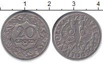 Изображение Барахолка Польша 20 грошей 1923 Медно-никель VF+ wj