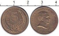 Изображение Дешевые монеты Уругвай 5 сентесим 1960 Латунь XF