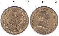 Изображение Дешевые монеты Уругвай 5 сентесим 1960 Латунь UNC-