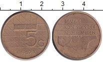 Изображение Дешевые монеты Нидерланды 5 гульденов 1989 Бронза XF Регулярный выпуск