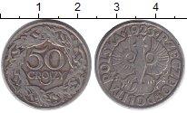 Изображение Барахолка Польша 50 грошей 1923 Медно-никель VF+ WJ