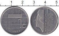 Изображение Барахолка Нидерланды 1 гульден 1999 Медно-никель XF