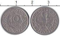 Изображение Дешевые монеты Польша 10 грош 1923 Никель VF+