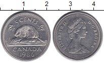 Изображение Дешевые монеты Канада 5 центов 1986 Медно-никель XF