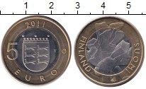 Монета Финляндия 5 евро Биметалл 2011 UNC фото
