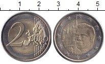 Изображение Монеты Люксембург 2 евро 2007 Биметалл UNC-