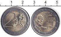 Изображение Монеты Франция 2 евро 2010 Биметалл UNC- 70 - летие речи гене