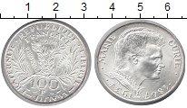 Изображение Монеты Франция 100 франков 1984 Серебро UNC