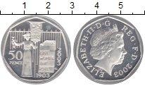 Изображение Монеты Великобритания 50 пенсов 2003 Серебро Proof