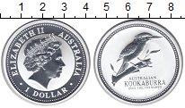 Изображение Монеты Австралия 1 доллар 2003 Серебро Proof- Кукабарра.