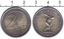 Изображение Монеты Греция 2 евро 2004 Биметалл UNC-
