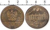 Изображение Монеты Польша 2 злотых 2006 Латунь UNC- Загань.